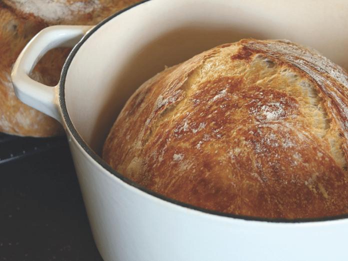 Almost No-Knead Bread recipe