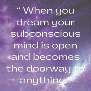 Dream On Quote Graphic