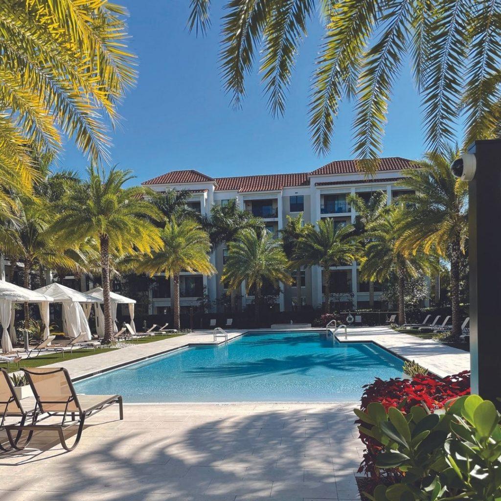 UpsideHom property in Boca Raton, Florida.